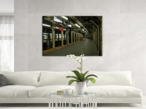 Leinwandbild Stadt Times Square Subway U-Bahn Station New York 1-teilig 121236
